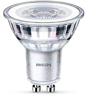 Philips - Bombilla LED Foco GU10 Cristal, 4.6 W Equivalentes a 50 W, Luz Blanca Neutra,…