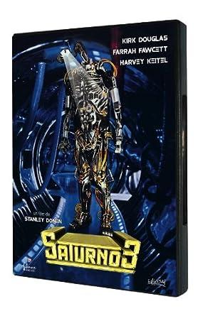 Saturno 3 [DVD]: Amazon.es: Farrah Fawcett, Kirk Douglas, Harvey ...