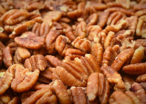 (Sprouted Texas Native Pecan Halves, Family Recipe Crispy, Soaked and Dried with Sea Salt, 12 Oz. With Stand-up Resealable Bag)
