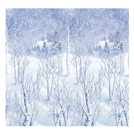 Room Winter Wonderland Roll (Winter Wonderland Room Roll Scene Setter - 40 Feet)