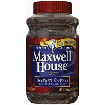 Amazoncom Maxwell House Instant Coffee 12oz Grocery