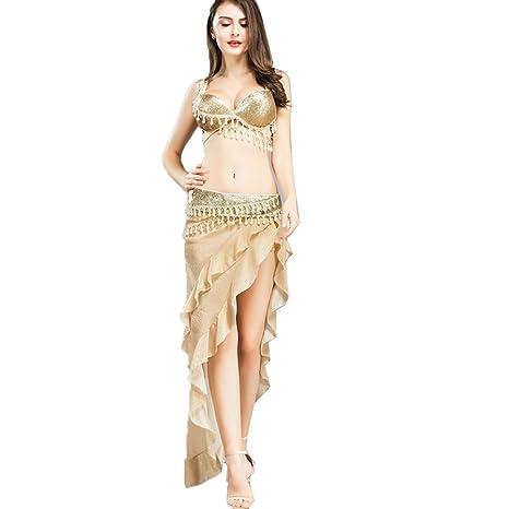 Falda de la Danza del Vientre de Las Mujeres Faldas Flamencas ...