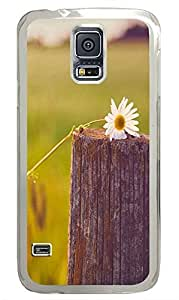 Samsung Galaxy S5 nature flower colorful 6 PC Custom Samsung Galaxy S5 Case Cover Transparent