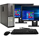 Desktop Computer Package, Quad Core i5 3.1GHz, 8GB Ram, 500GB, Dual 22inch LCD, DVD, WiFi, Keyboard, Mouse, Bluetooth…