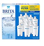 Brita Advanced Pitcher Filter SpecialQuantity Pack (10 Pack Total) (Packaging May Vary)
