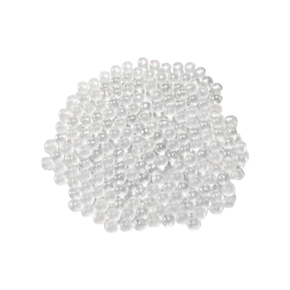 2.0-2.5mm Dia Grinding Media Adamas-Beta Solid Round Clear Glass Beads Boiling Stones Pack of 1kg Glass Grinding Balls