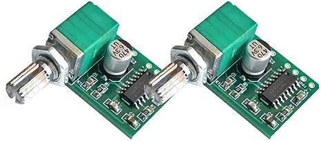 PAM8403 5W+5W Digital Bluetooth Stereo Audio Power Amplifier Board 2 Channel 5V
