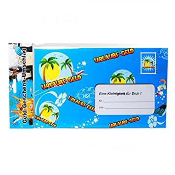 Riesen Umschlag Urlaubsgeld Fur Geldgeschenke Party Deko Urlaub