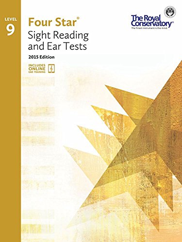 4S09 - Royal Conservatory Four Star Sight Reading and Ear Tests Level 9 Book 2015 -