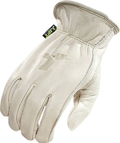 LIFT Safety 8 Seconds Gloves (Off-White, Medium) ()