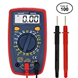 Case of 100, AstroAI Digital Multimeter with Ohm Volt Amp and Diode Voltage Tester Meter
