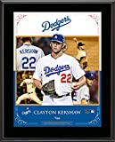 "Clayton Kershaw Los Angeles Dodgers Sublimated 10.5"" x 13"" Composite Plaque - Fanatics Authentic Certified"