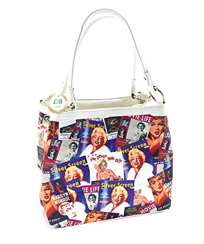 Marilyn Monroe Collage Purse, Two Way Handbag, MM613, New 2014