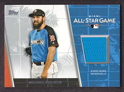 2017 Topps Update Baseball All-Star Stitches #ASR-MF Michael Fulmer Detroit Tigers