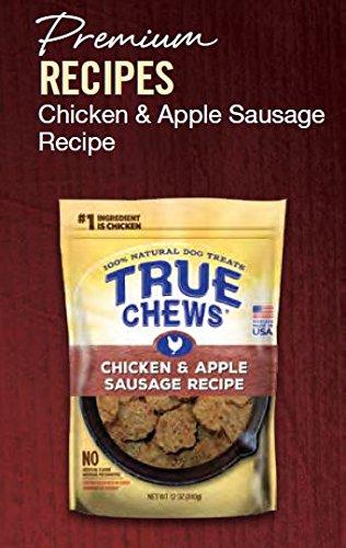 True Chews Chicken and Apple Sausage Recipe 12 oz