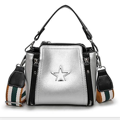 Sac Large Sac Femmes Silver Zip Mode Mzdpp Bandoulière À Petit 6 Diagonal Portable Bandoulière Couleur qftwUFwnz
