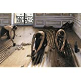 Posters: Gustave Caillebotte Poster Art Print - The Floor Scrapers, 1875 (47 x 31 inches)