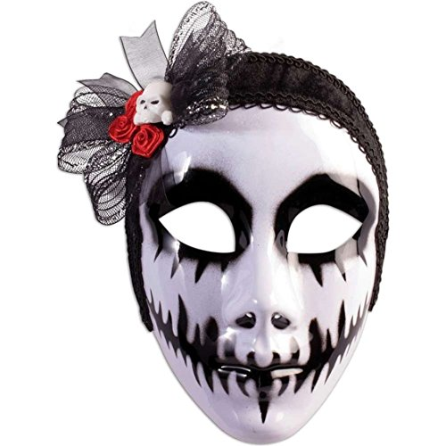 Day of the Dead Phantom Bride Mask