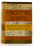 img - for Forgotten Scripts book / textbook / text book
