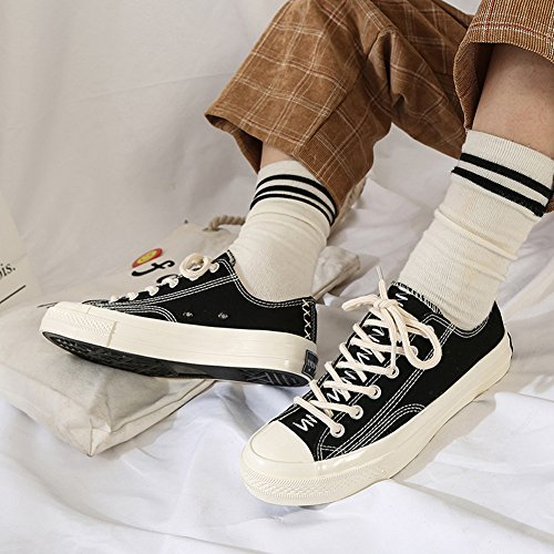 Amint Lace Canvas Low 07 for Shoes Women Sports Fashion Ups Cut Men Casual Black Unisex Trainers Sneaker and Shoes r1rqnpwW
