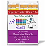 pH Test Strips, pH Dip Sticks With Four Panels, pH Scale 0-14. Get Accurate Results in Seconds.