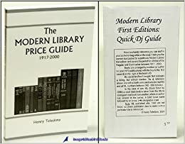 Modern library price guide: 1917-2000 (with dust jacket): henry.