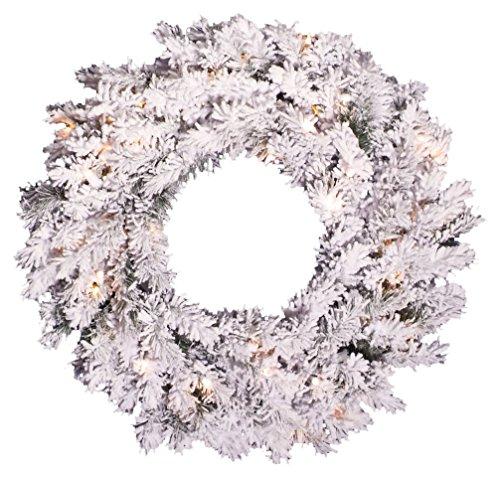 Vickerman Unlit Douglas Fir Artificial Wreath with Artificial Pine Cones, 23