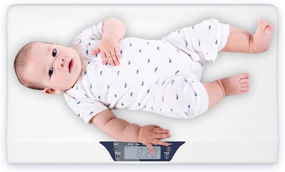 HD Pantalla Grande Hogar Electrónica Báscula Para Bebé Mini Multifunción Escala De Peso Para Mascotas Smart Baby Escala Electrónica: Amazon.es: Hogar
