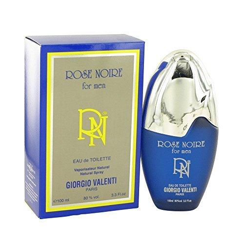 (ROSE NOIRE by Giorgio Valenti Men's Eau De Toilette Spray 3.4 oz - 100% Authentic)