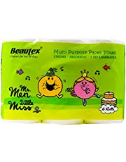 Beautex Mr Men and Little Miss Kitchen Towel, 70ct (Pack of 6)