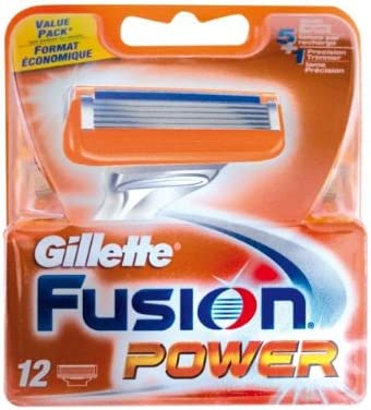 Gillette Fusion Power Pack de 12 hojas: Amazon.es: Salud y cuidado ...
