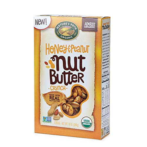 Nature's Path Nut Butter Crunch Cereal, Honey Peanut, 6 Count