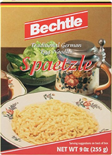 Bechtle Spaetzle Traditional German Egg Noodles, 9 Ounce (Pack of 12)