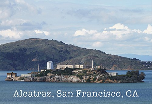 Alcatraz, San Francisco, California, CA, Prison, Magnet 2 x 3 Photo Fridge Magnet
