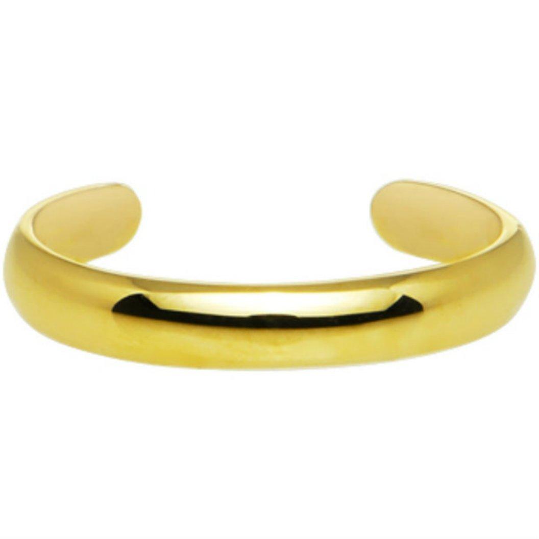 14K Gold Filled 3mm Adjustable Toe Ring