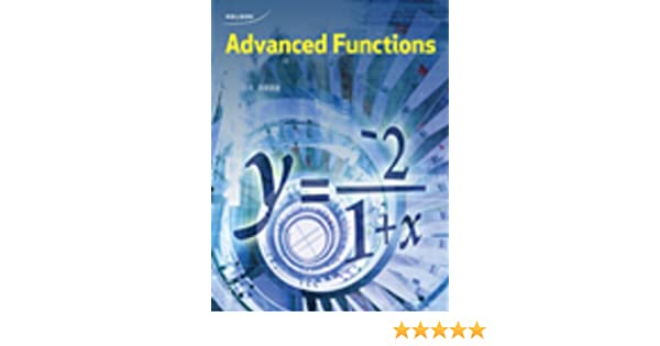 Nelson advanced functions 12 student book chris kirkpatrick nelson advanced functions 12 student book chris kirkpatrick 9780176374433 textbooks amazon canada fandeluxe Image collections