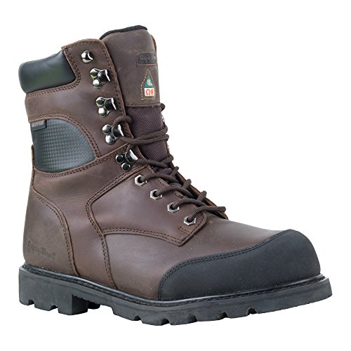 RefrigiWear Men's Platinum Leather Boot, Brown, 7 US by Refrigiwear