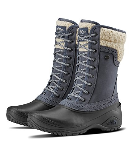 The North Face Women's Shellista II Mid - Grisaille Grey & Vintage White - 8