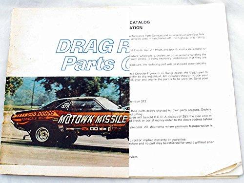 1971 Drag Racing Parts Catalog