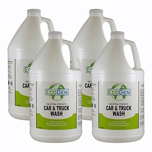 (EcoGen ECOTRK-Gcs Car & Truck Wash, Unscented, Gallon (Case of 4))