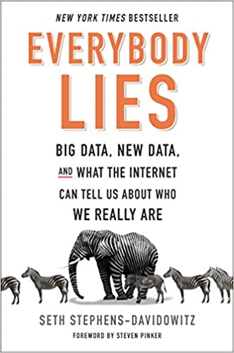 088bae29bb Everybody Lies: Big Data, New Data, and What the Internet Can Tell Us About  Who We Really Are: Seth Stephens-Davidowitz: 9780062390851: Amazon.com:  Books