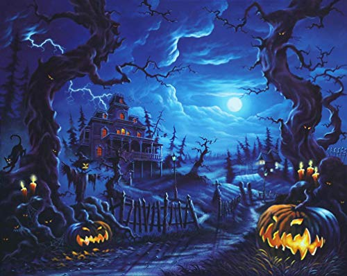 Halloween Night Out London - Puzzle 1000 Pieces Wooden Adult Puzzle