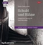 Schuld und Sühne: Ungekürzte Lesung (3 mp3-CDs)