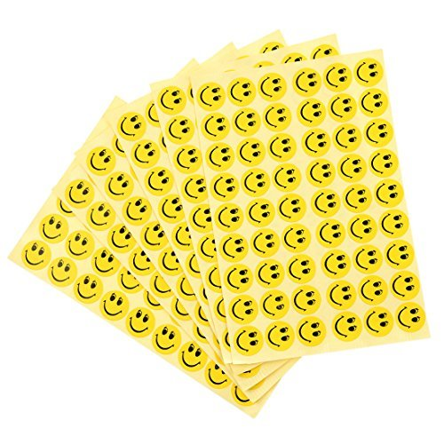 TOOGOO 324 pcs Smiley Face Children Reward Merit Praise Stickers for School Teacher party