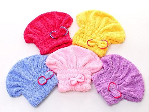 Home Textile Useful Dry Hair Hat Coral velvet Microfiber Turban Quickly Dry Wrapped Towel Bathing Cap