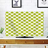 Best As Seen On TV Headphones For Tvs - LCD TV Cover Lovely,Lime Green,Nostalgic Polka Dots Style Review