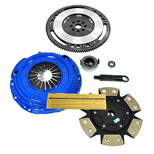 EFT STAGE 3 CLUTCH KIT+ 10 LBS CHROMOLY RACE FLYWHEEL for ACURA HONDA B16 B18 B20 - Flywheel 1996 Integra
