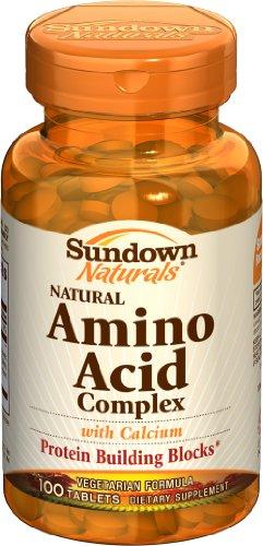 Complexe Amino Acid Sundown, 100 comprimés (lot de 4)