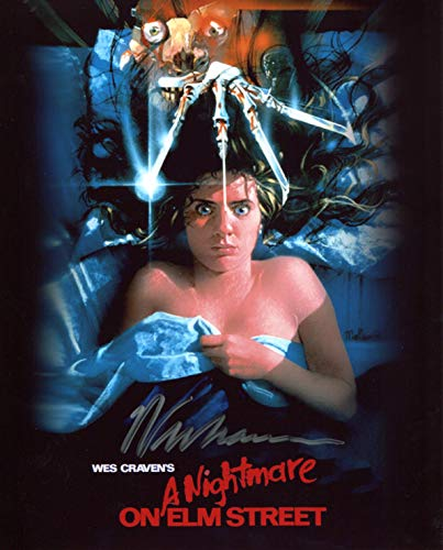 Wes Craven Signed/Autographed A Nightmare On Elm Street Movie Poster 8x10 Glossy Photo. Includes FANEXPO Certificate of Authenticity and Proof. Entertainment Autograph Original. from Star League Sports