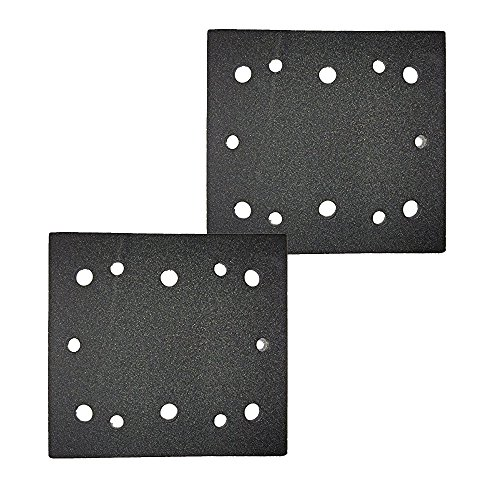 Ryobi S652DK 1/4 Sheet Double Insulated Sander (2 Pack) Replacement Pad Assembly # 039066005023-2pk (Sheets Ryobi Sanding)